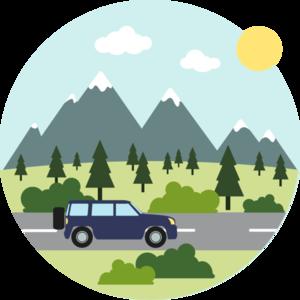 opony do jazdy w górach