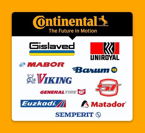 Marki grupy Continental