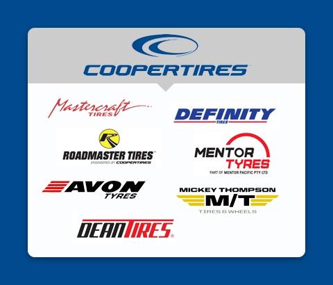 marki grupy Cooper Tires