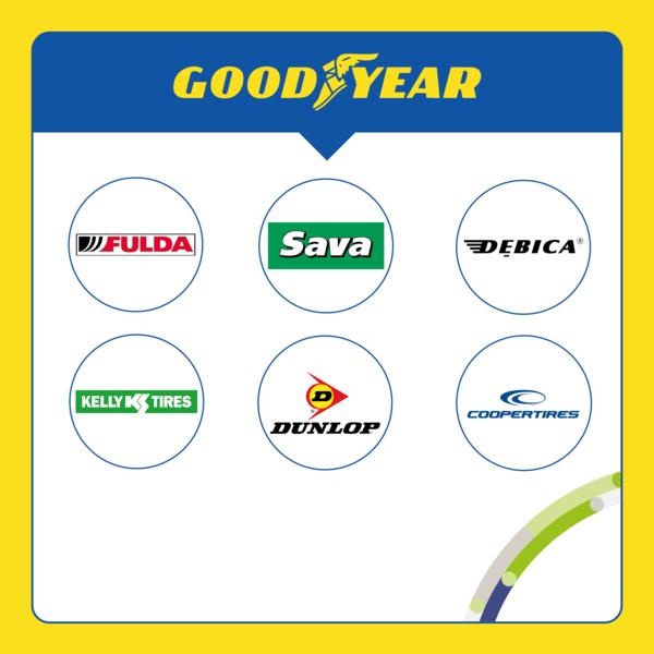 marki grupy Goodyear
