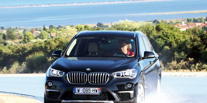 Specjaliści z niemieckiego magazynu motoryzacyjnego przetestowali 10 najlepszych opon do SUV-ów w BMW X3.