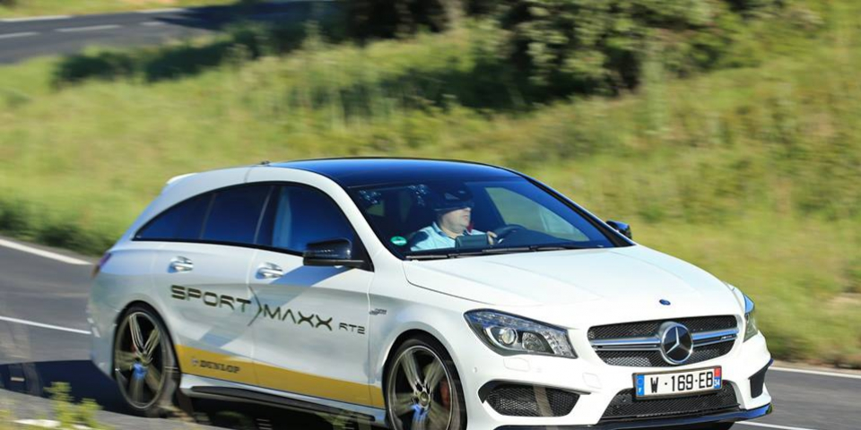 Test drogowy Dunlop Sport Maxx RT2