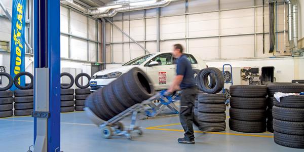 Test i ranking najlepszych opon letnich 2021 – montaż ogumienia w wykonaniu specjalistów z Auto Express