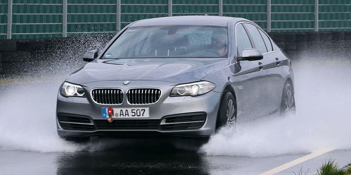 Test opon letnich 2020 w wykonaniu Auto Bild na BMW serii 5