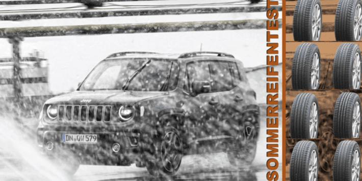 Test opon letnich do SUV-a przeprowadzony przez Auto Bild