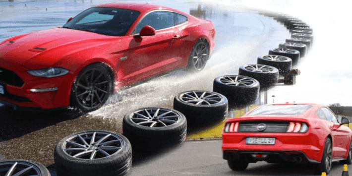 Test sportowych opon letnich 2021 – Auto Bild porównuje możliwości najlepszych opon sportowych na Mustangu GT