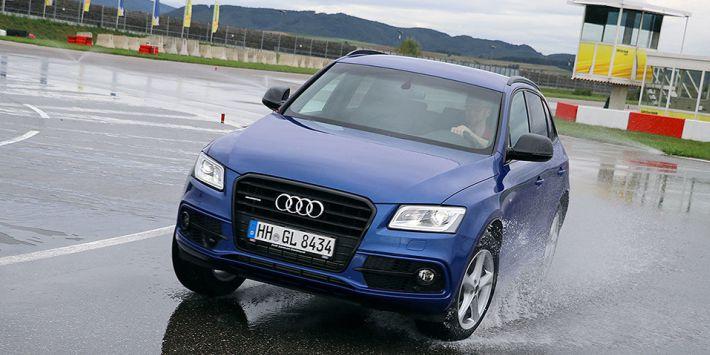 Magazyn AutoBild Allrad przetestował opony całoroczne na 18-calowych felgach za pomocą Audi Q5