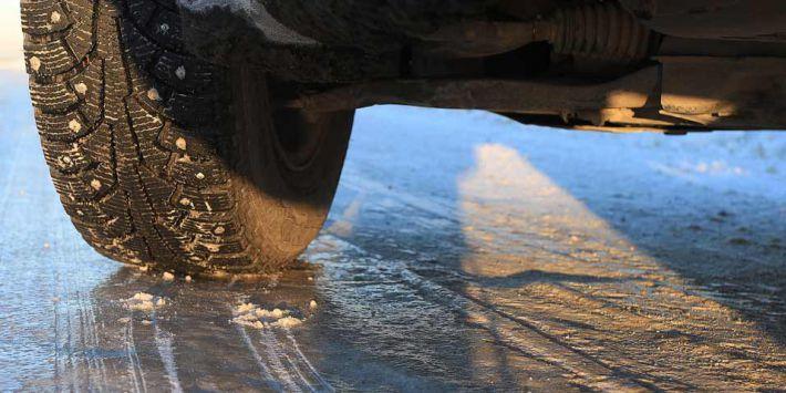 Jazda zimą opony