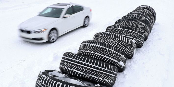 Opony zimowe UHP - test Auto Bild