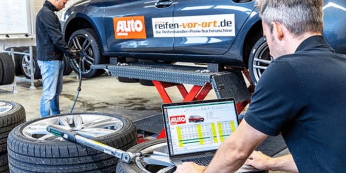 Test opon sportowych UHP - Auto Zeitung