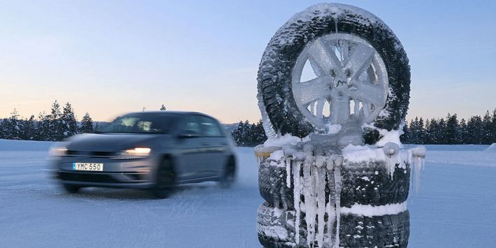 Test opon zimowych magazynu Auto Bild